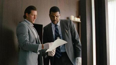 "Edward Burns (left) and Tyler Perry star as detectives in ""Alex Cross."""